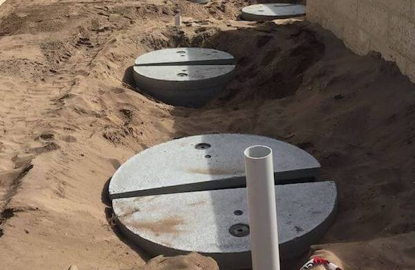 Concrete septic systems Australia